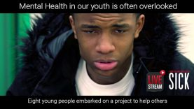 Mental health in young people is on the increase.