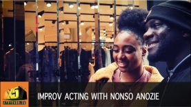Actors techniques and improv with Nonso Anozie