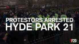 Hyde Park protestors arrested for breaching new rules